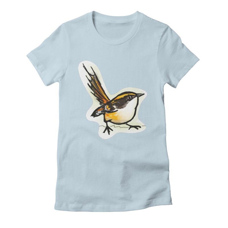 Churrin Bird Women's Fitted T-Shirt by libedlulo