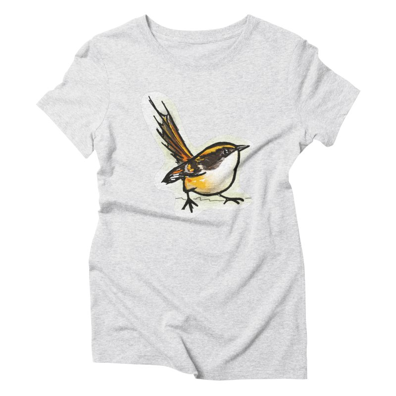 Churrin Bird Women's T-Shirt by libedlulo