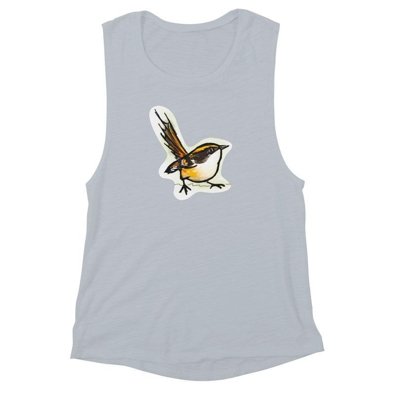 Churrin Bird Women's Muscle Tank by libedlulo