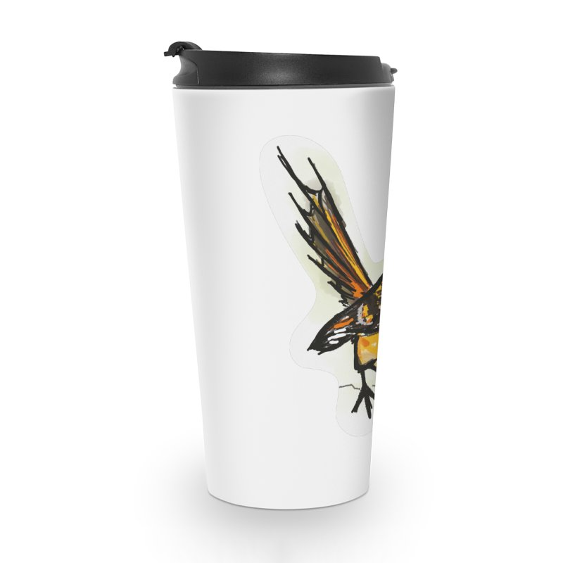 Churrin Bird Accessories Travel Mug by libedlulo