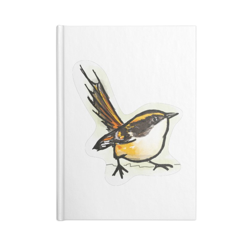 Churrin Bird Accessories Notebook by libedlulo