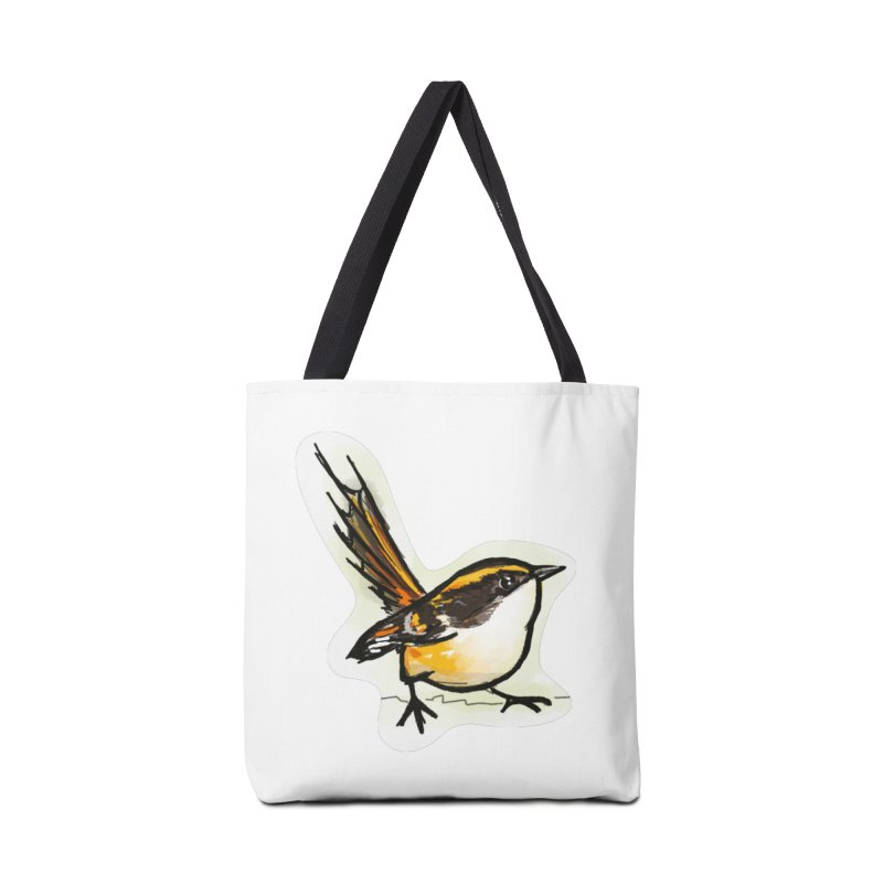 Churrin Bird Accessories Tote Bag Bag by libedlulo