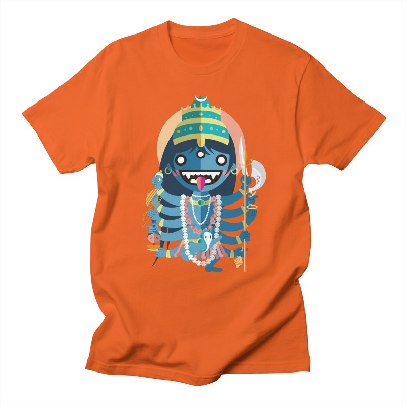 Kali Hindu Goddess Men's T-Shirt by libedlulo