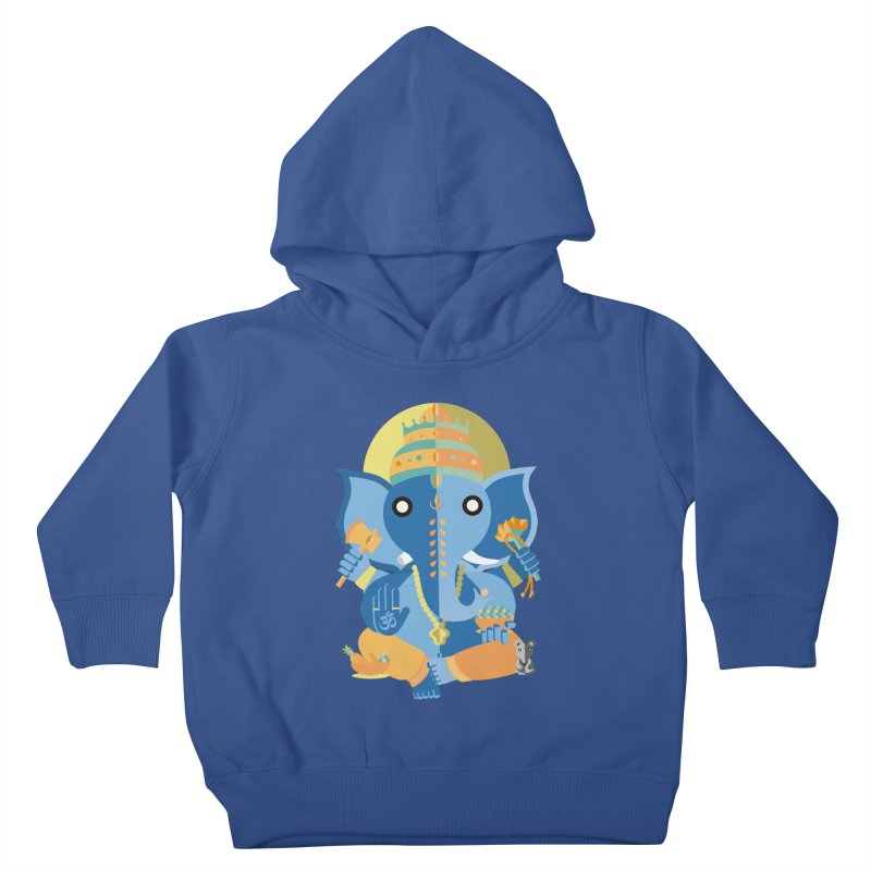 Ganesha Kids Toddler Pullover Hoody by libedlulo