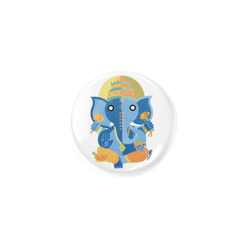 Ganesha Accessories Button by libedlulo