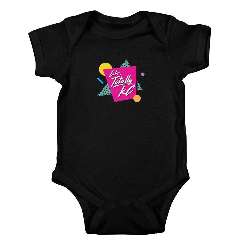 Totally KC Kids Baby Bodysuit by The Pitch Kansas City Gear Shop