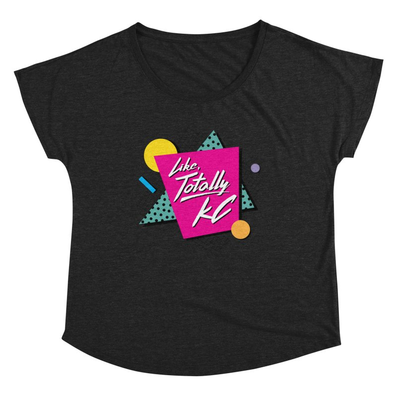Totally KC Women's Scoop Neck by The Pitch Kansas City Gear Shop