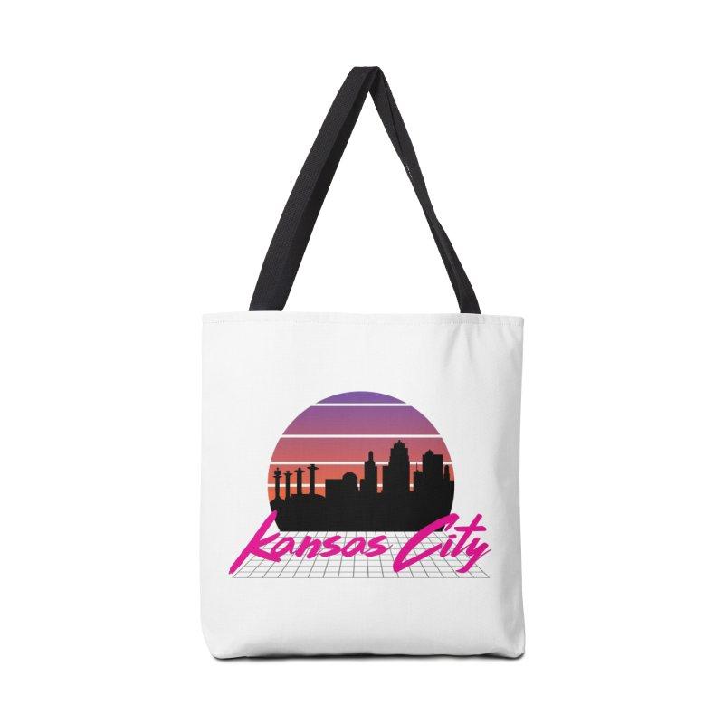 Kansas City Vaporwave Accessories Bag by The Pitch Kansas City Gear Shop