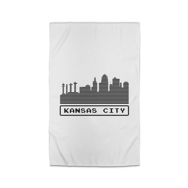 8-Bit KC Home Rug by The Pitch Kansas City Gear Shop