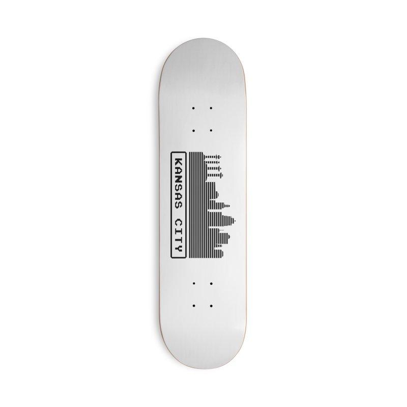 8-Bit KC Accessories Skateboard by The Pitch Kansas City Gear Shop