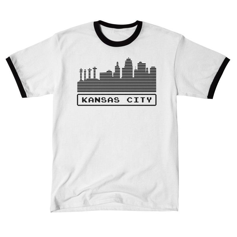 8-Bit KC Men's T-Shirt by The Pitch Kansas City Gear Shop