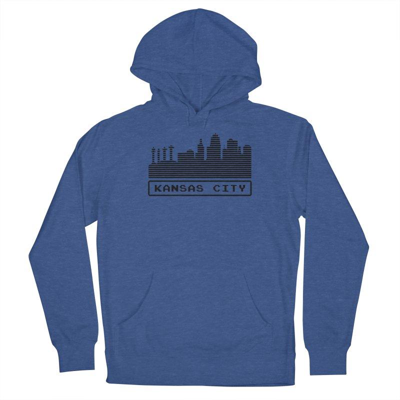 8-Bit KC Men's Pullover Hoody by The Pitch Kansas City Gear Shop