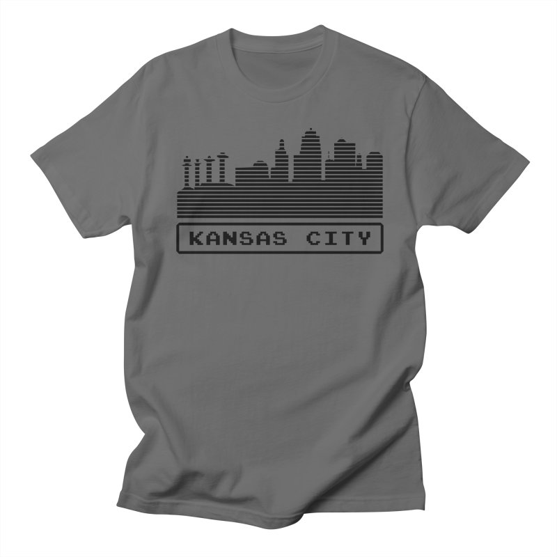8-Bit KC Men's T-Shirt by The Pitch Kansas City Gear Shop