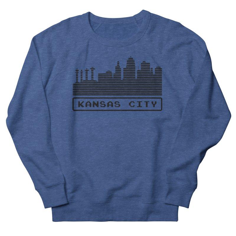 8-Bit KC Men's Sweatshirt by The Pitch Kansas City Gear Shop