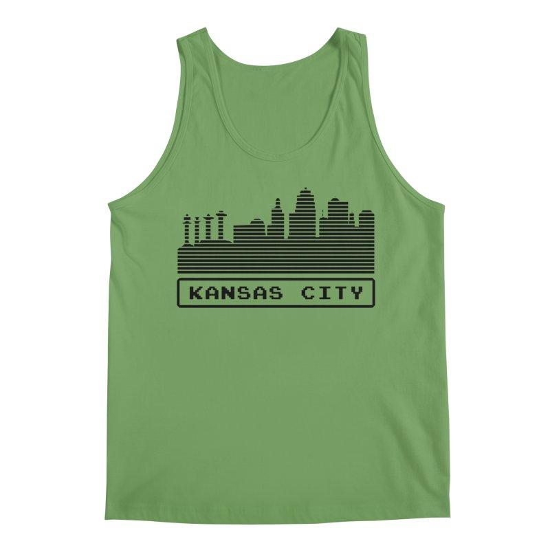 8-Bit KC Men's Tank by The Pitch Kansas City Gear Shop