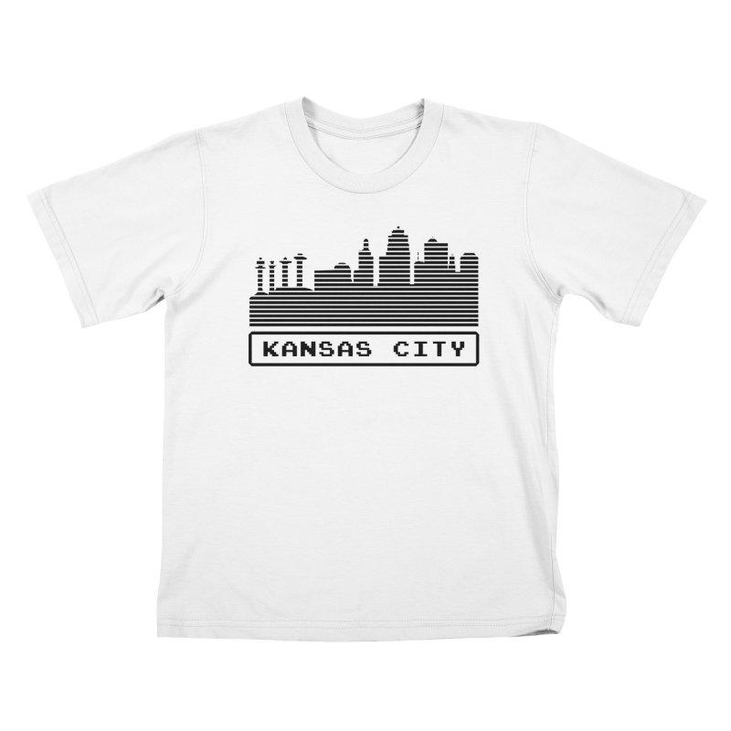 8-Bit KC Kids T-Shirt by The Pitch Kansas City Gear Shop
