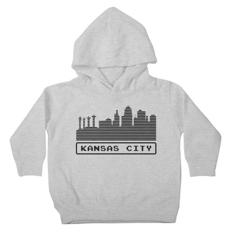 8-Bit KC Kids Toddler Pullover Hoody by The Pitch Kansas City Gear Shop