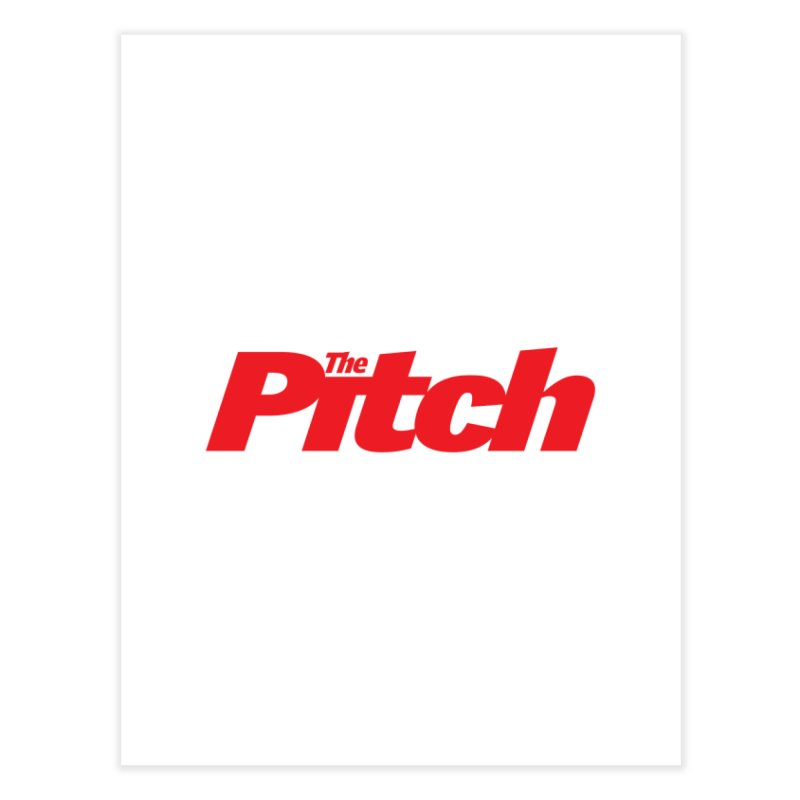 The Pitch Home Fine Art Print by The Pitch Kansas City Gear Shop