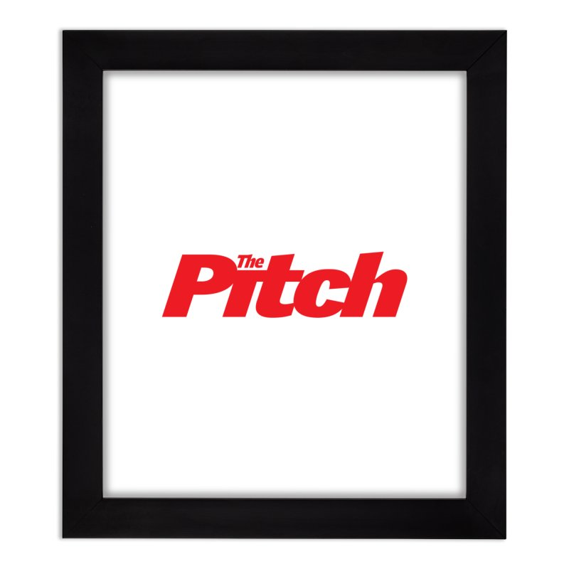 The Pitch Home Framed Fine Art Print by The Pitch Kansas City Gear Shop