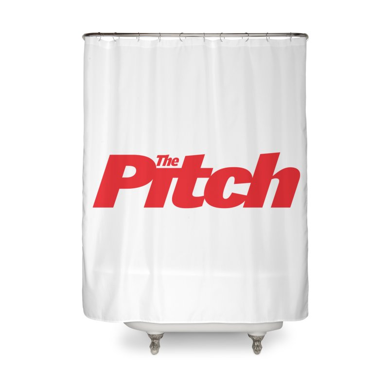 The Pitch Home Shower Curtain by The Pitch Kansas City Gear Shop