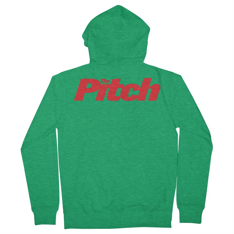 The Pitch Men's Zip-Up Hoody by The Pitch Kansas City Gear Shop