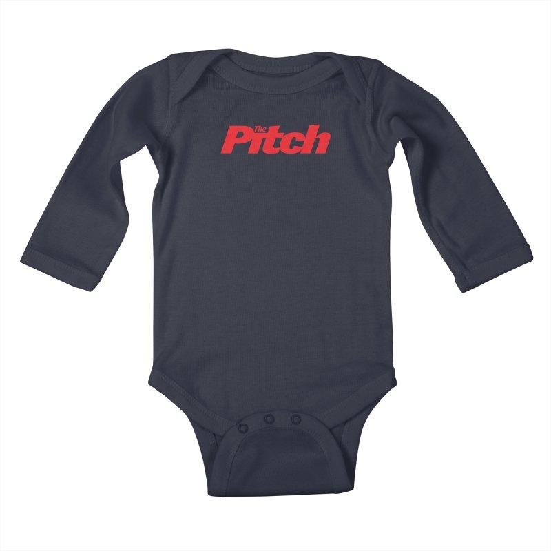 The Pitch Kids Baby Longsleeve Bodysuit by The Pitch Kansas City Gear Shop