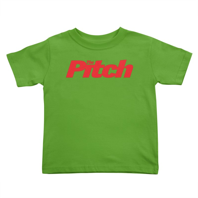 The Pitch Kids Toddler T-Shirt by The Pitch Kansas City Gear Shop