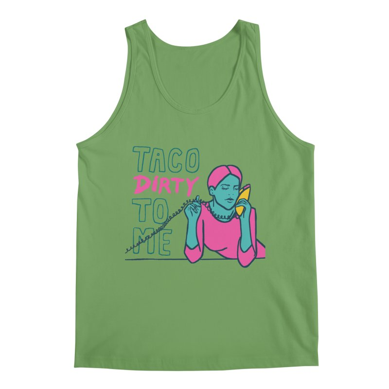 Taco Week - Taco Dirty To Me Men's Tank by The Pitch Kansas City Gear Shop