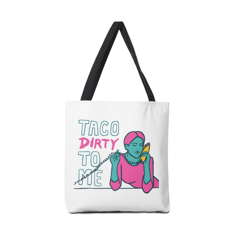 Taco Week - Taco Dirty To Me Accessories Bag by The Pitch Kansas City Gear Shop