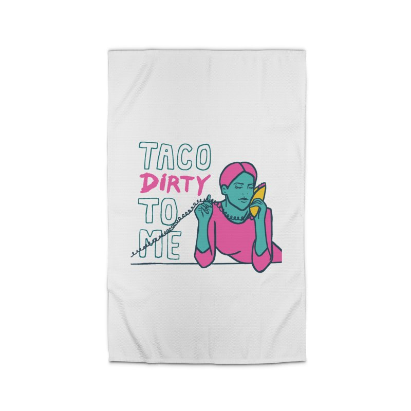 Taco Week - Taco Dirty To Me Home Rug by The Pitch Kansas City Gear Shop
