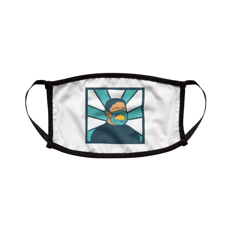 Taco Week - Wear a Mask, Eat Tacos Accessories Face Mask by The Pitch Kansas City Gear Shop