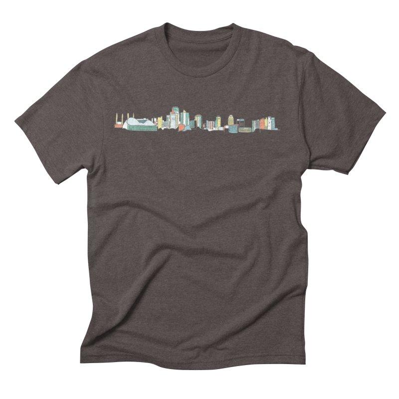 KC Sketchline Men's T-Shirt by The Pitch Kansas City Gear Shop