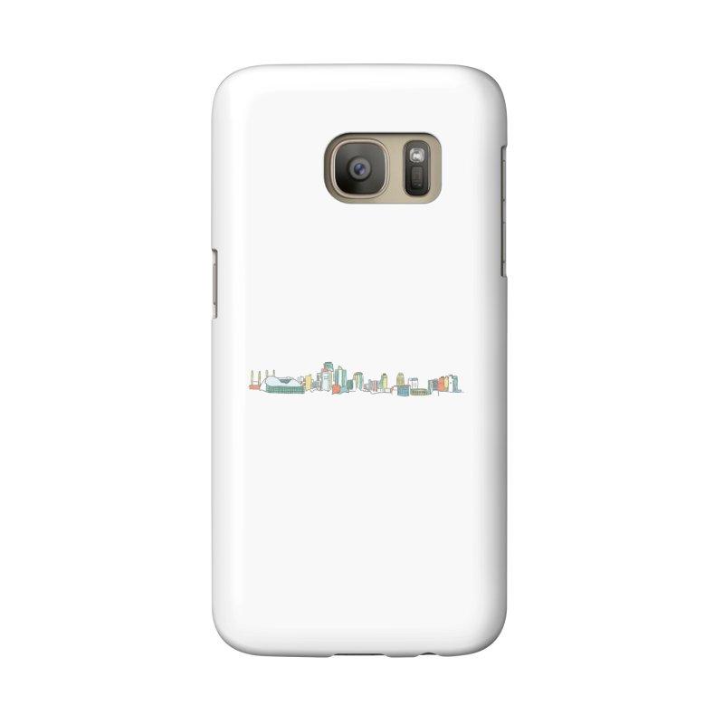 KC Sketchline Accessories Phone Case by The Pitch Kansas City Gear Shop