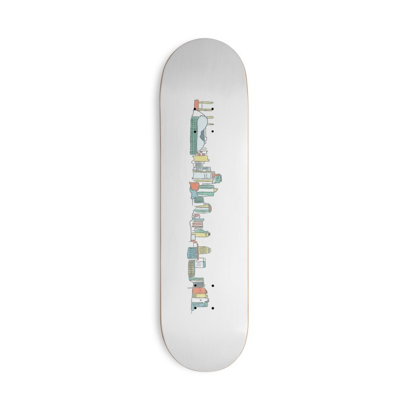 KC Sketchline Accessories Skateboard by The Pitch Kansas City Gear Shop