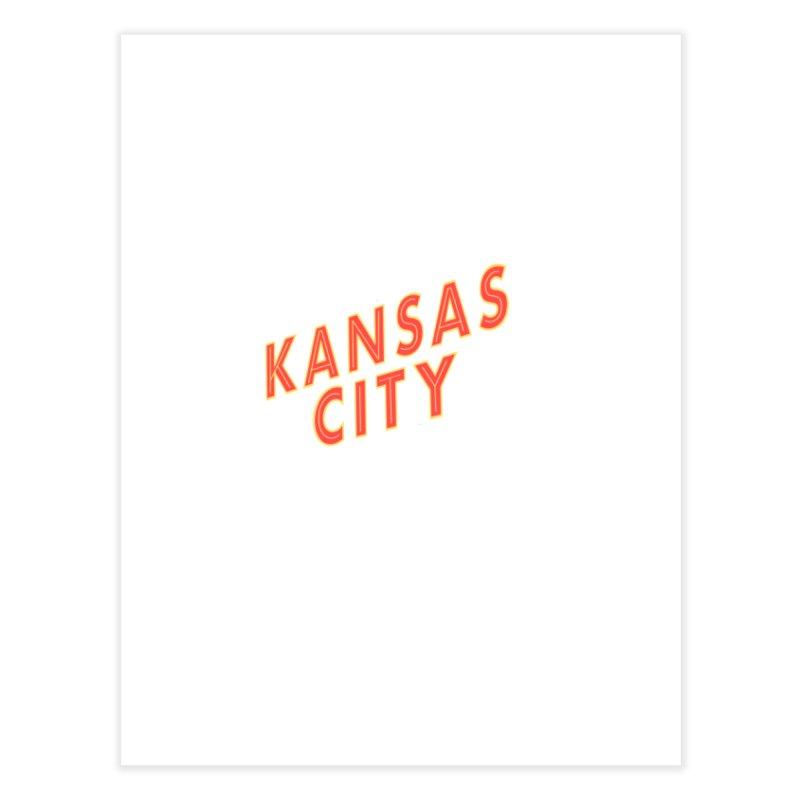 Kansas City Billboard Home Fine Art Print by The Pitch Kansas City Gear Shop