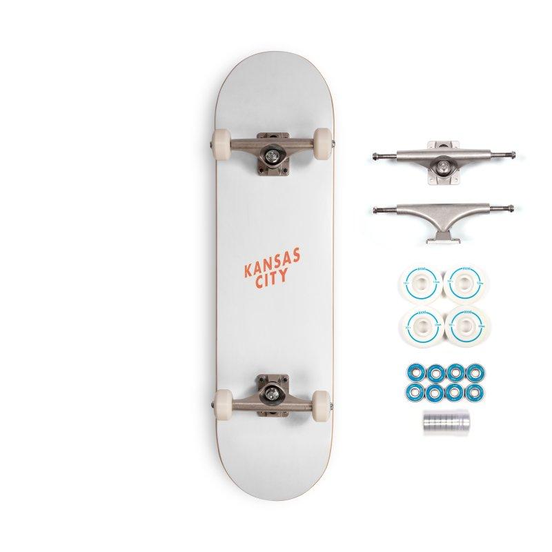 Kansas City Billboard Accessories Skateboard by The Pitch Kansas City Gear Shop