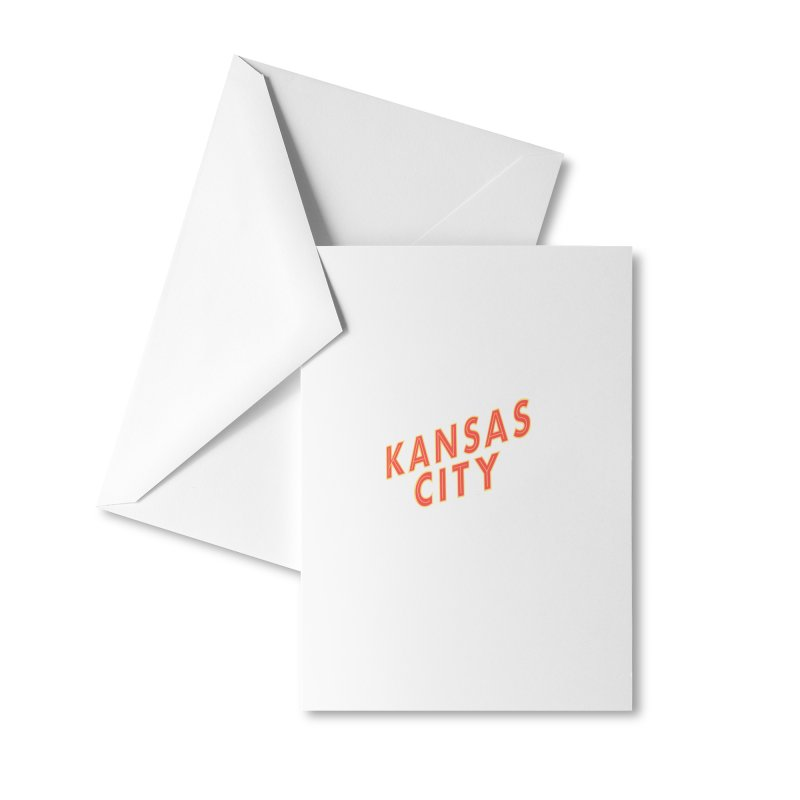 Kansas City Billboard Accessories Greeting Card by The Pitch Kansas City Gear Shop