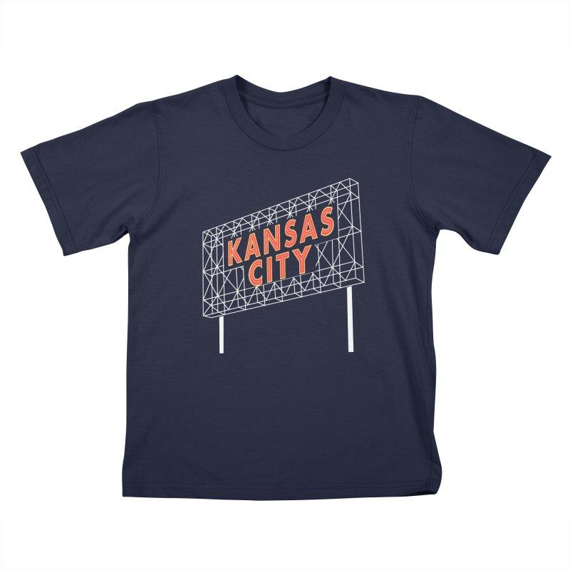 Kansas City Billboard Kids T-Shirt by The Pitch Kansas City Gear Shop