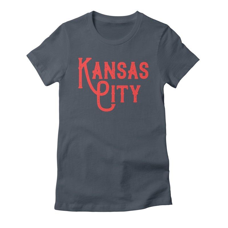 Olde Thyme KC Women's T-Shirt by The Pitch Kansas City Gear Shop