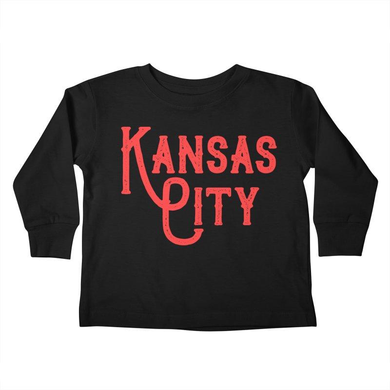 Olde Thyme KC Kids Toddler Longsleeve T-Shirt by The Pitch Kansas City Gear Shop