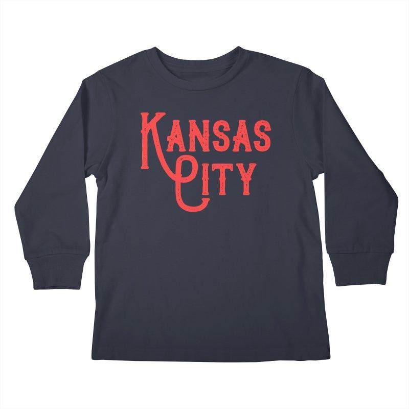 Olde Thyme KC Kids Longsleeve T-Shirt by The Pitch Kansas City Gear Shop