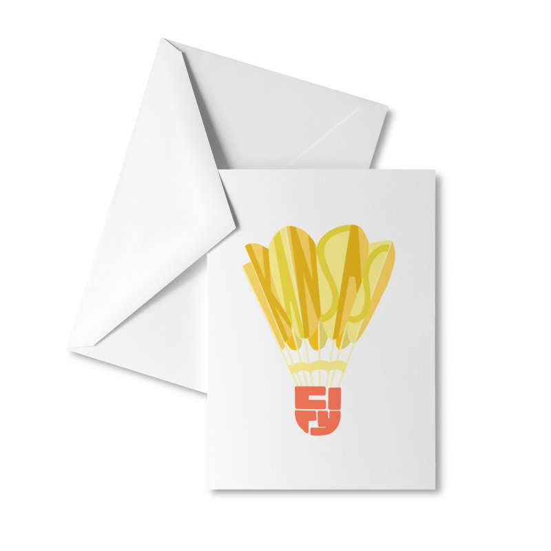 ShuttlecoKCs Accessories Greeting Card by The Pitch Kansas City Gear Shop