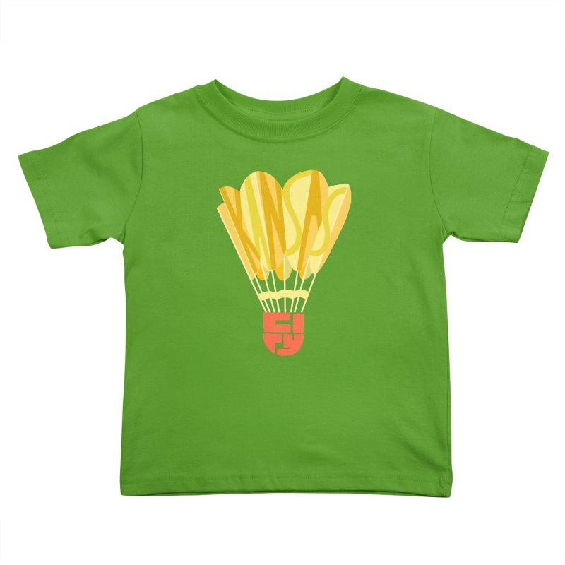 ShuttlecoKCs Kids Toddler T-Shirt by The Pitch Kansas City Gear Shop