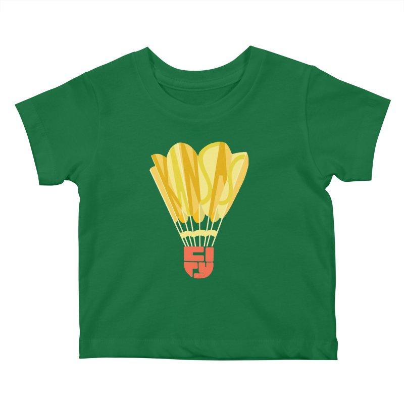 ShuttlecoKCs Kids Baby T-Shirt by The Pitch Kansas City Gear Shop