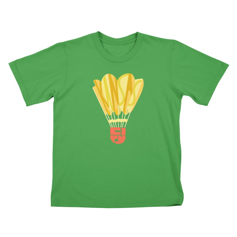 ShuttlecoKCs Kids T-Shirt by The Pitch Kansas City Gear Shop