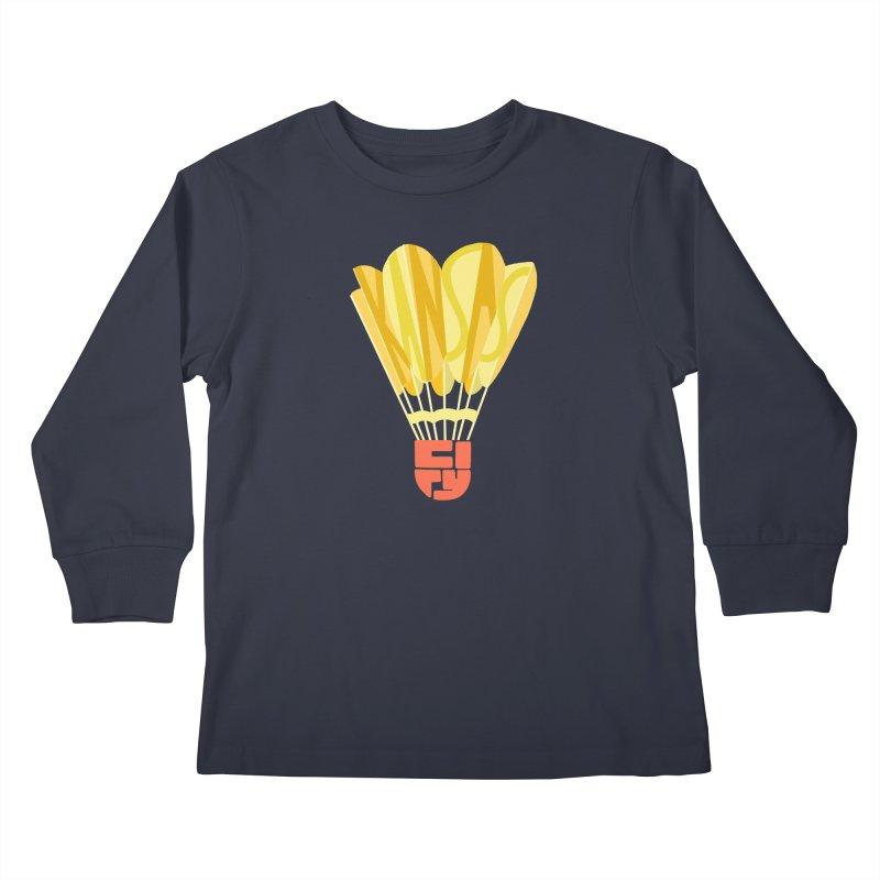 ShuttlecoKCs Kids Longsleeve T-Shirt by The Pitch Kansas City Gear Shop