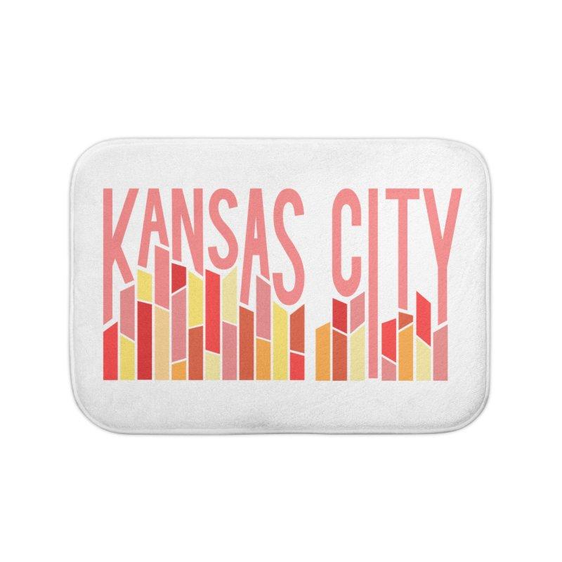 KC Fire Home Bath Mat by The Pitch Kansas City Gear Shop