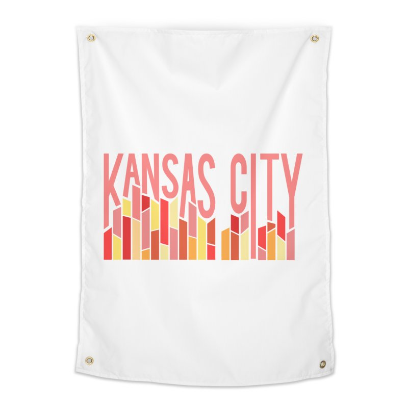 KC Fire Home Tapestry by The Pitch Kansas City Gear Shop