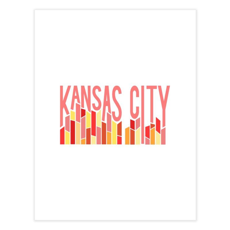KC Fire Home Fine Art Print by The Pitch Kansas City Gear Shop