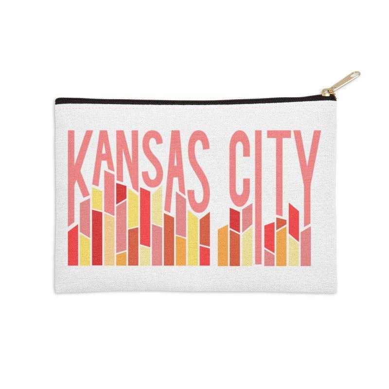 KC Fire Accessories Zip Pouch by The Pitch Kansas City Gear Shop